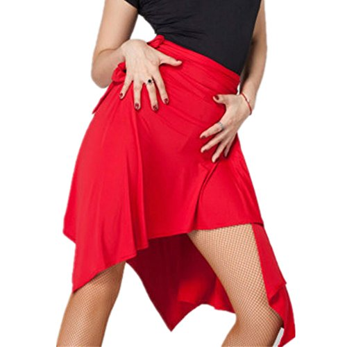 YOUMU-Women-Ballroom-Latin-Salsa-Tango-Dance-Skirt-Dress-Skate-Wrap-Scarf-Dancewear