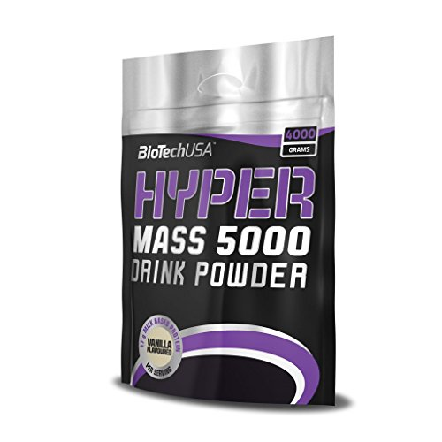 Biotech USA 11001020200 Hyper Mass 5000 Prise de Masse Saveur Chocolat