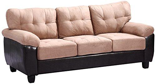 Glory Furniture G908A-S Living Room Sofa, Mocha