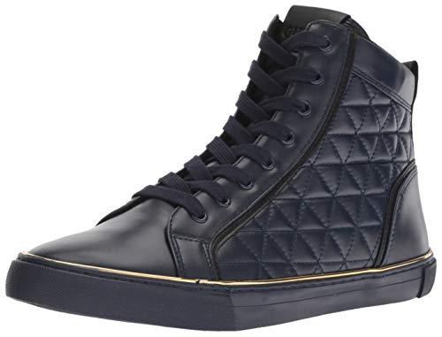 - GUESS Men's Melo2 Sneaker, Navy, 10 M US