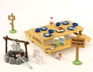 Sylvanian Families - Mesa de picnic con accesorios