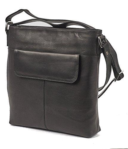 Claire Chase Women's Conceal Carry Handbag Shoulder Bag, Black, One Size