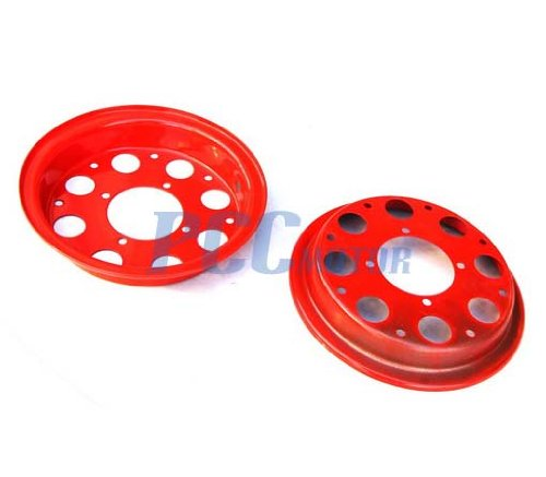 8L 8'' HONDA MINITRAIL Z50 Z50R Z 50 FRONT AND REAR RIMS WHEEL SET RED RM14