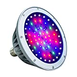 Britelumen LED Pool Light, 120V 40W IP65 Waterproof, Color Changing Bulb Replacement for Pentair Fixture(120V-RGB+White)