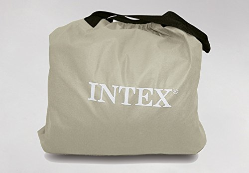 Intex Premium Comfort Airbed with Dura-Beam Technology, Queen, Bed Height 18″