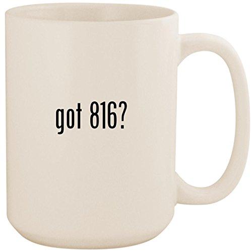 got 816? - White 15oz Ceramic Coffee Mug Cup