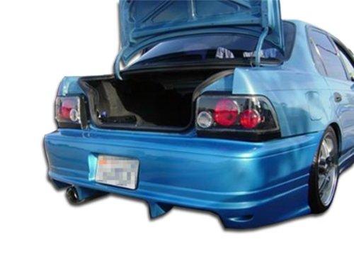 Duraflex Replacement for 1993-1997 Toyota Corolla Geo Prizm Bomber Rear Bumper Cover - 1 Piece ()