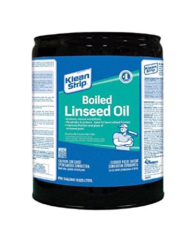 Klean-Strip Green CLO45 Boiled Linseed Oil, 5-Gallon