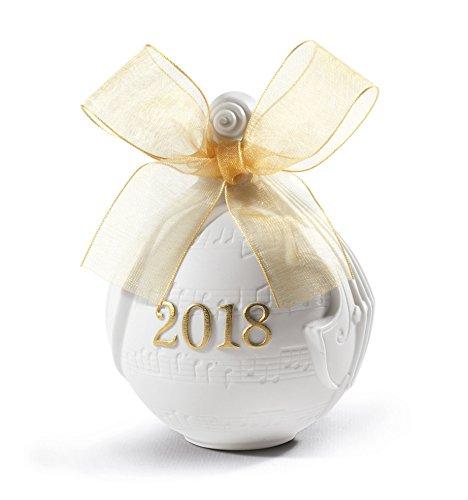 Lladro 2018 Ball Christmas Ornament (Re-Deco)