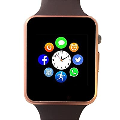 Bluetooth Smartwatch Unlocked Watch Phone can Call and Text with TouchScreen Camera Notification Sync for Android SumSung Huawei and IOS iPhone 7 8 X
