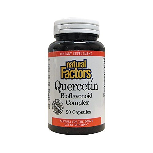 UPC 068958013879, Natural Factors Quercetin Bioflavonoid 235 mg Capsules, 90-Count
