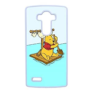 Anime Series Cartoon Design Winnie the Pooh Protective Case for LG G4 Case JS009