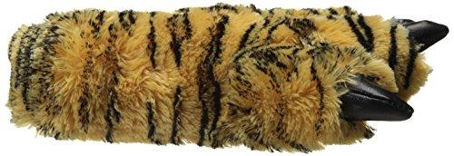 Wishpets Harige Panterpantoffels (bruin / Bruin) Bruine Bengaals