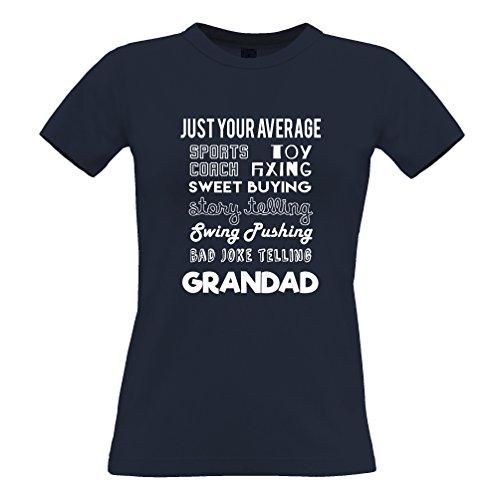 Tim and Ted A soli le vostre qualità media nonno Super Eroe T-Shirt Da Donna
