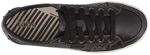 Women's Black Fashion Sneaker Taos Freedom wgqSx4476
