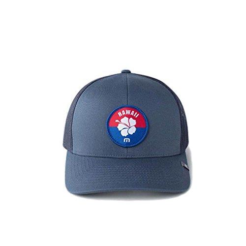 Travis Mathew Aloha (Hawaii) Snapback Hat Dark Blue