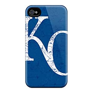 High Quality Mobile Cover For Iphone 6 With Support Your Personal Customized Lifelike Kansas City Royals Series LauraAdamicska