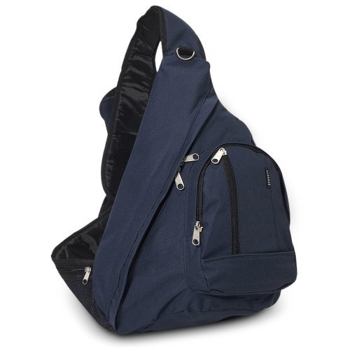 Everest Sling Bag Shoulder Carry Backpack - Navy