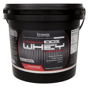 Ultimate Nutrition 100% Whey Low Fat Protein Powder with BCAAs ( Strawberry, 5 Pounds) For Sale