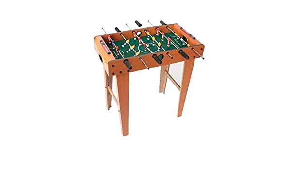 Item Juego Madera 69X37X69 Futbolín: Amazon.es: Juguetes y juegos