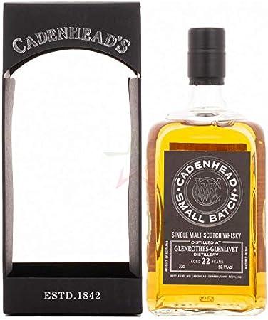 Cadenhead's Cadenhead's GLENROTHES-GLENLIVET 22 Years Old SINGLE CASK Single Malt Scotch Whisky 50,1% Vol. 0,7l in Giftbox - 700 ml