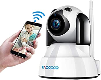 Taococo Dog 1080P FHD WiFi IP Surveillance Camera