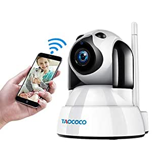 Amazon.com: TAOCOCO Cámara para mascotas de perro, 720P WiFi ...