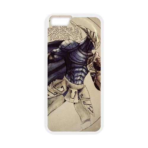 Sven Rogue Knight Dota 2 coque iPhone 6 Plus 5.5 Inch cellulaire cas coque de téléphone cas blanche couverture de téléphone portable EEECBCAAN07603