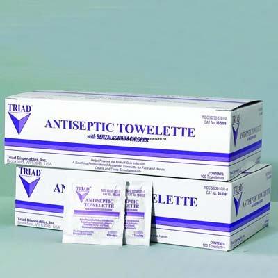 Triad Antiseptic - Antiseptic Hand Gel Size : 4 oz flip top dispenser