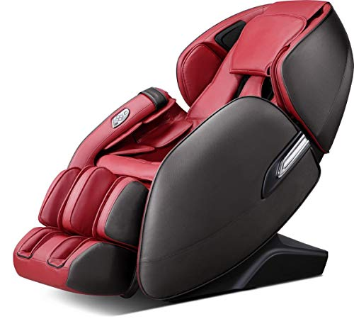 Relife IgniteCare Atomic 3D Full Body Wellness Massage Chair (AM 33) Red & Black