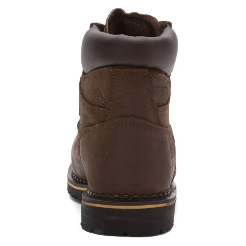 Mr86734 Mcrae Mens Stivali Di Sicurezza Interni Met Guard - Marrone Scuro - 10.0 - M