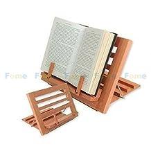 FOME Wooden Reading Rest Adjustable Cookbook Holder + FOME GIFT