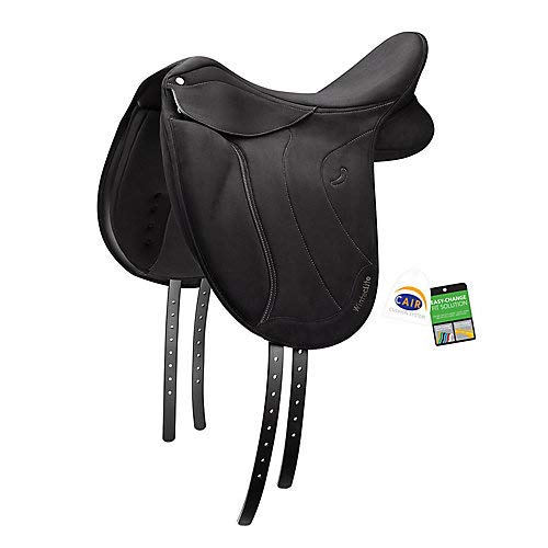 (WintecLite Black Dressage D-Lux Saddle 17)