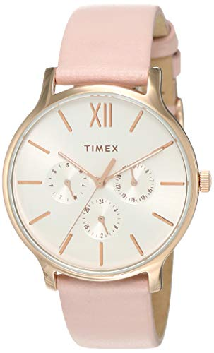 Timex Analog White Dial Women #39;s Watch TW2T74300