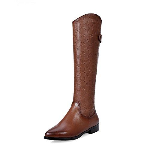 High marrón mujer SevenKnee Nine Boots Botas 5Azffq