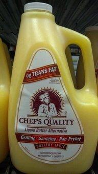 (Chef's Quality: Liquid Butter Alternative 1 Gallon (3 Pack)