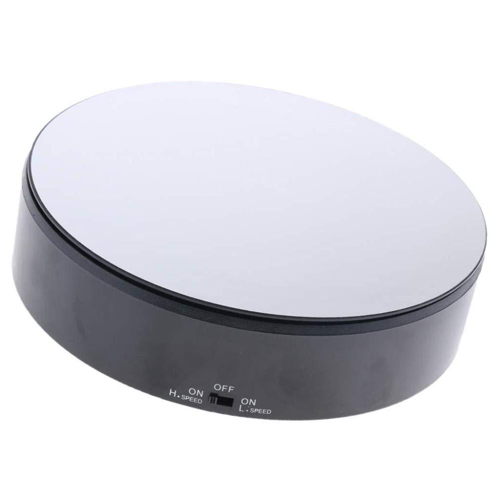 NewbieBoom Présentoir Rotatif électrique SunniMix de SM, Noir, écran inversé en Noir,1