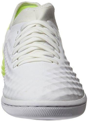 Nike Magistax Finale Ii Ic, Botas de Fútbol para Hombre Blanco (White / Black-Volt)