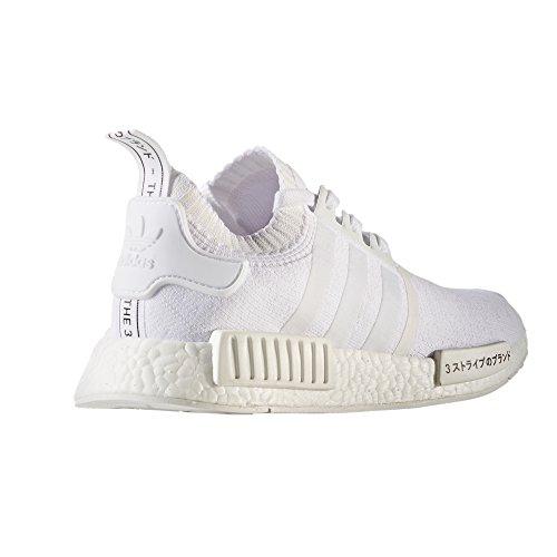 adidas Originals NMD_r1 PK, Primeknit Sneaker, Tecnologia Boost. Scarpe Uomo FTWR WHITE