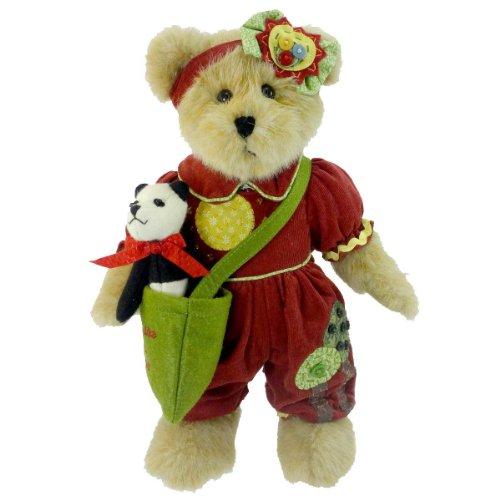 Boyds Bears Plush Meagan Goodfriend W/Checkers Panda Friendship - Plush & Fabric 12.00 IN