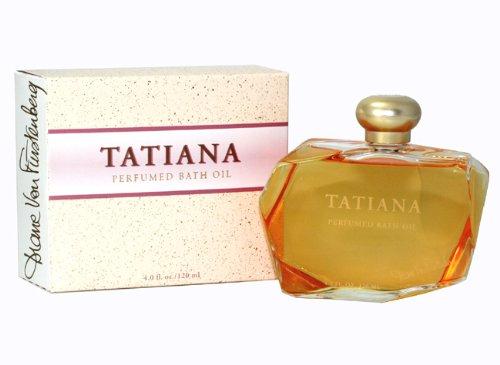 Diane Von Furstenberg Bath Oil - Tatiana By Diana Von Furstenberg For Women. Bath Oil 4 Ounces