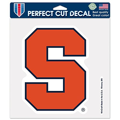 (NCAA Syracuse Orange 8-by-8 Inch Diecut Colored Decal)
