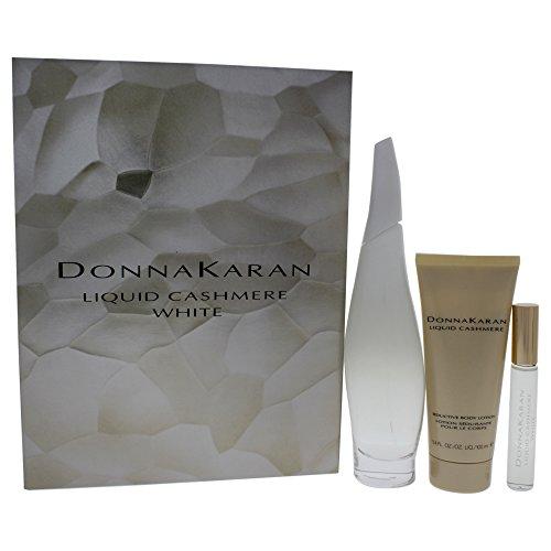 DONNA KARAN Liquid Cashmere Women s Gift Set, White