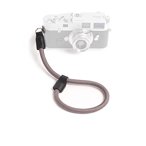 Cheap Cam-in Outdoor Series High Strength Climbing Rope Camera Wrist Band Suitable for Round Hole Interface Cameras (Gray)