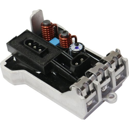 GRAND CHEROKEE 11-14 5 Male Terminals Blower Motor Resistor compatible with DODGE DURANGO 11-13