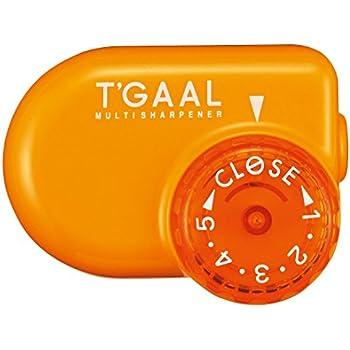 Kutsuwa STAD Angle Adjustable Pencil Sharpener T'GAAL, Orange  (RS017OR)