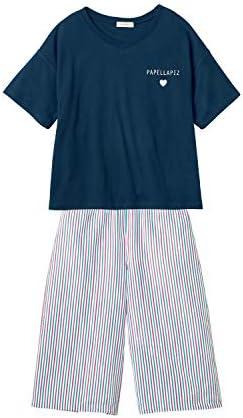 パジャマ ガールズ 半袖 ガウチョ