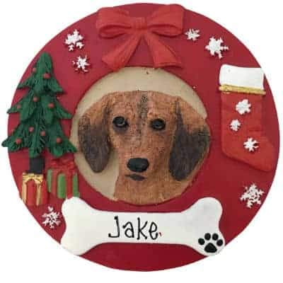 Dachshund - Red Personalized Ornament - (Unique Christmas, used for sale  Delivered anywhere in USA