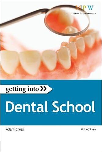 Getting Into Dental School: Adam Cross: 9781844553891: Amazon.com ...
