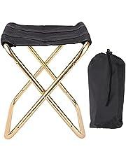 Lichtgewicht aluminium campingstoel buiten, draagbare opvouwbare kruk Mini vissen campingstoeltje